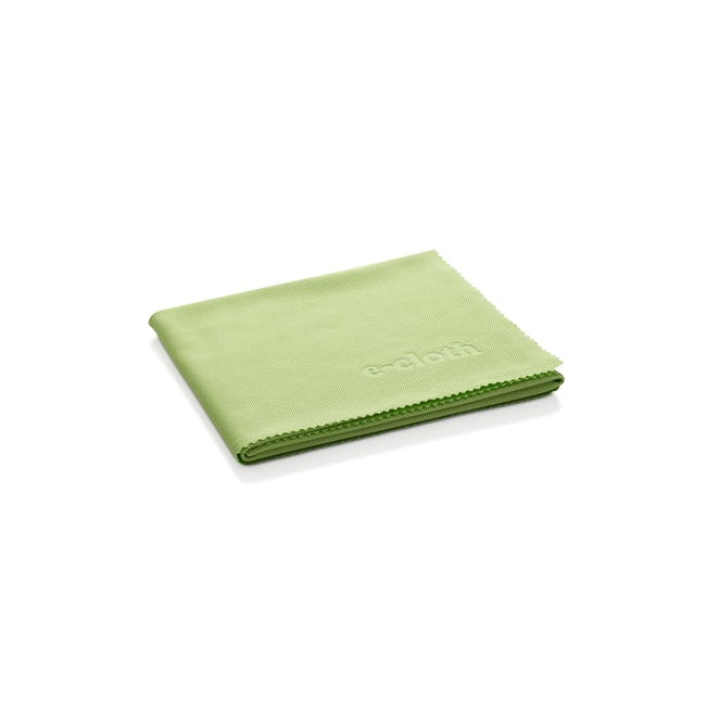 e-cloth Glass and Polishing Eco Cleaning Cloth - Lime Green - 0