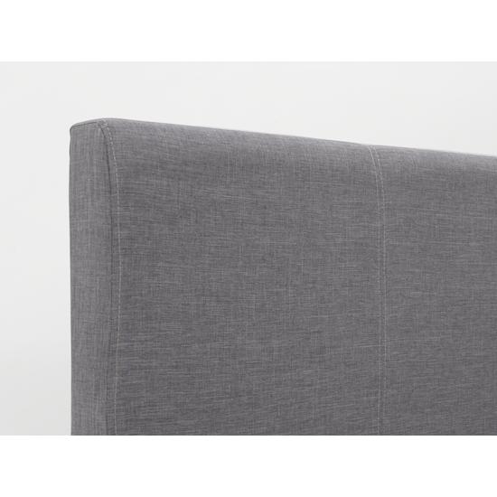Chen Dynasty - ESSENTIALS Queen Headboard Divan Bed - Smoke (Fabric)