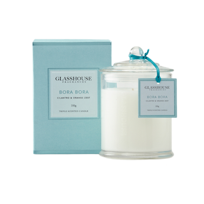 Bora Bora Candle - Cilantro & Orange Zest - Image 1