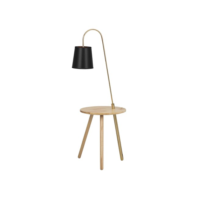 Alonso Floor Lamp / Side Table - 7