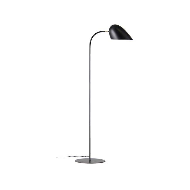 Gerbil Floor Lamp - Matte Black - 0