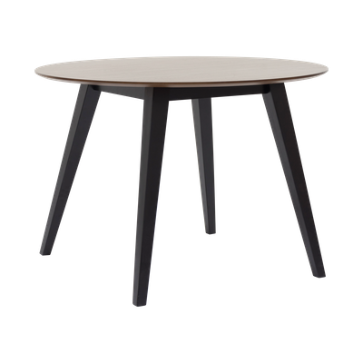 Ralph Round Dining Table Ì÷1m  - Black, Cocoa - Image 2