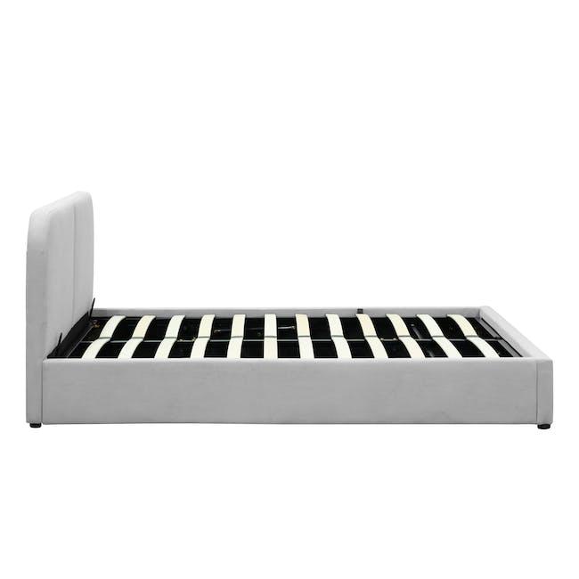 Nolan Queen Storage Bed - Silver Fox - 5