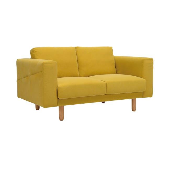 Minex 2 Seater Sofa - Tumeric - 2