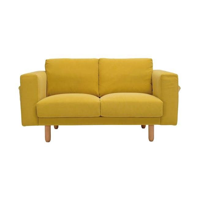 Minex 2 Seater Sofa - Tumeric - 6