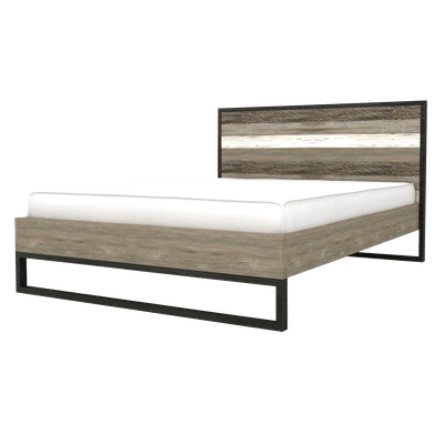 Xavier Queen Bed with 2 Xavier Bedside Tables - Image 2