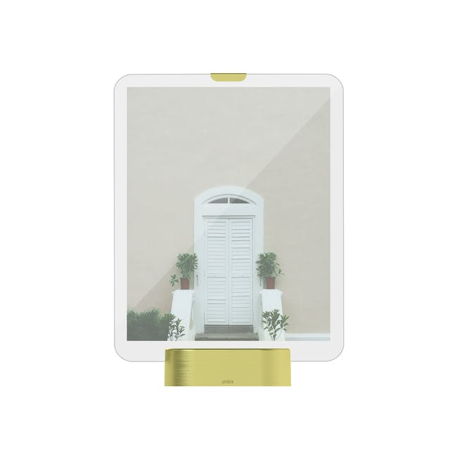 Glo 8 x 10 Photo Display - Brass - 0