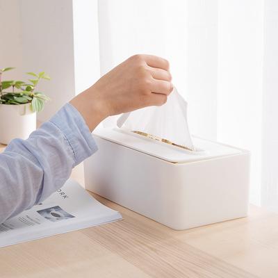 Laura Tissue Box - White - Image 2
