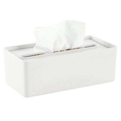 Laura Tissue Box - White - Image 1