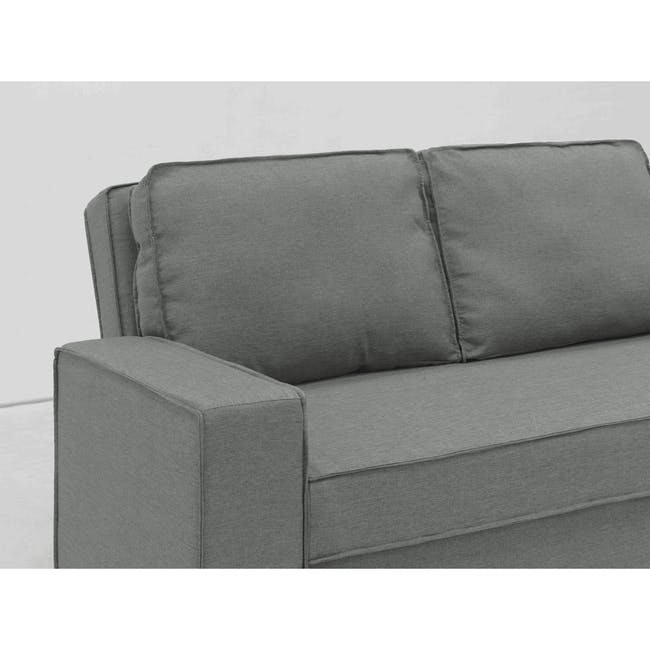Arturo 3 Seater Sofa Bed - Pigeon Grey - 16