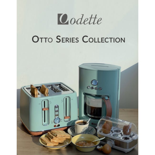 Odette Otto Series 1.7L Temperature Control Electric Kettle - Light Green - 4