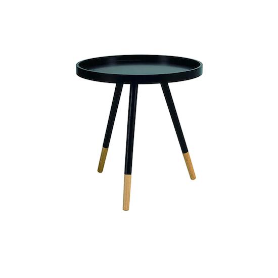 Laholm - Innis Coffee Table - Black, Natural