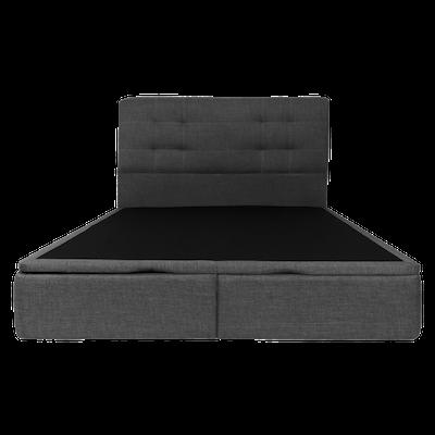 Cassandra Storage Bed - Smoke Grey (Fabric) - Image 1