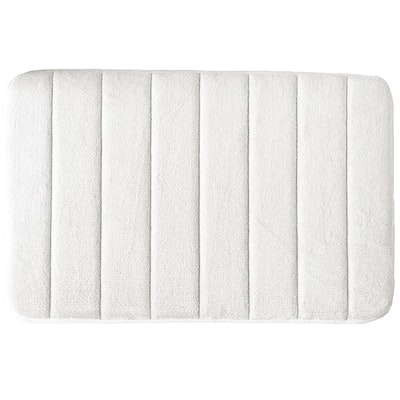 Memory Foam Bath Mat - Cream - Image 1