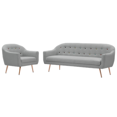 Arden 3 Seater Sofa with Arden Armchair - Image 1
