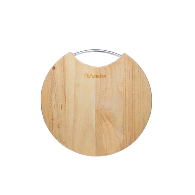 WoodenCutting & Serving Board- Round - 0