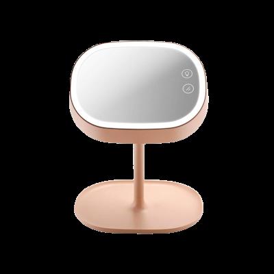 LED Light Vanity Mirror - Pink - Image 1
