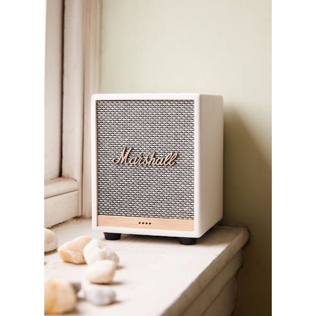 Marshall Uxbride Voice with Google Assistant - White - 1