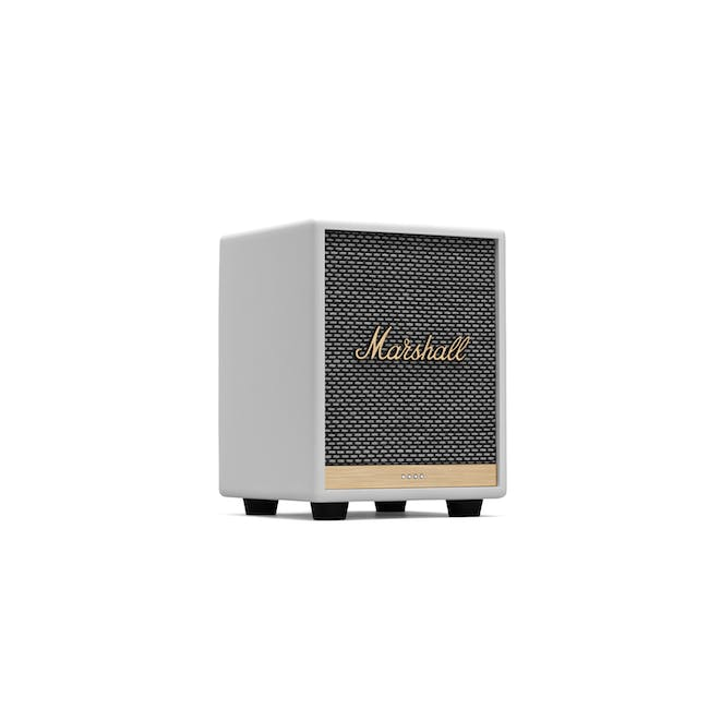 Marshall Uxbride Voice with Google Assistant - White - 0