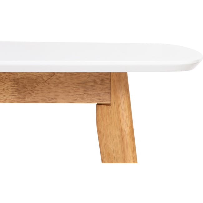 Allison Dining Table 1.5m - Natural, White - 1