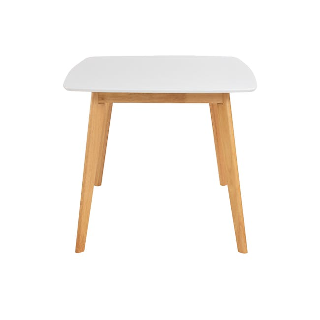 Allison Dining Table 1.5m - Natural, White - 3