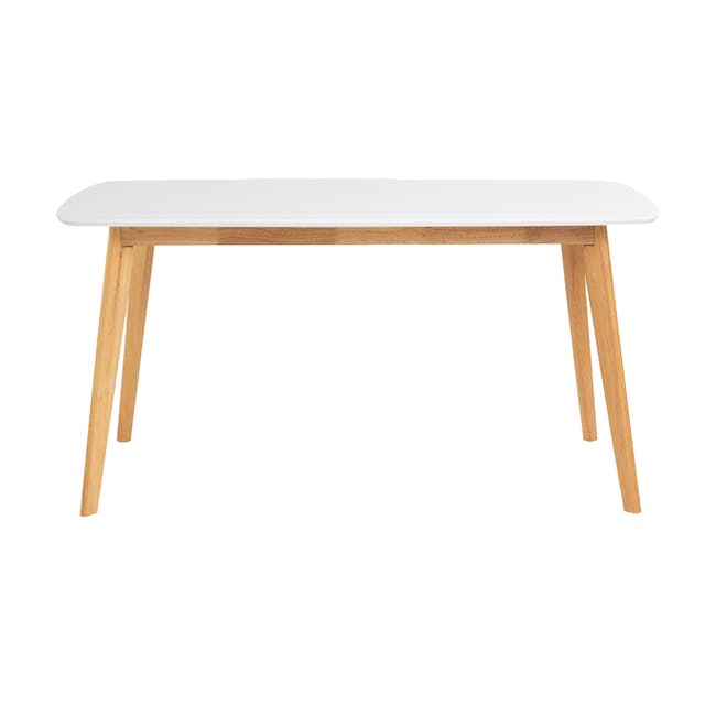 Allison Dining Table 1.5m - Natural, White - 2