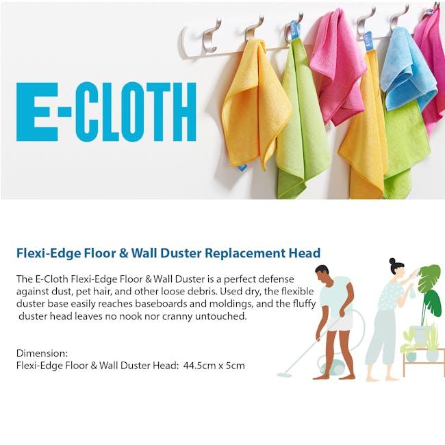 e-cloth Eco Flexi Edge Floor + Wall Duster Replacement Head - 3