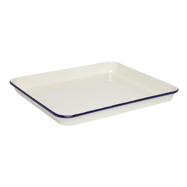 Wiltshire Enamel Bake Tray 1L - 0