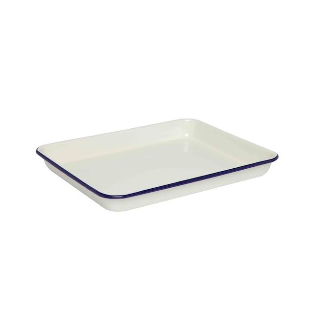 Wiltshire Enamel Bake Tray 1L - 2