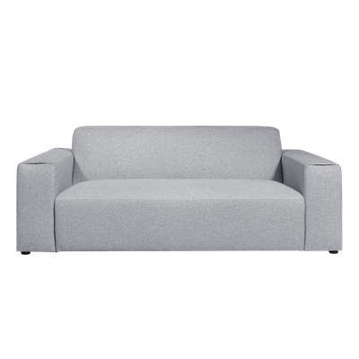 Adam 3 Seater Sofa - Grey - Image 1