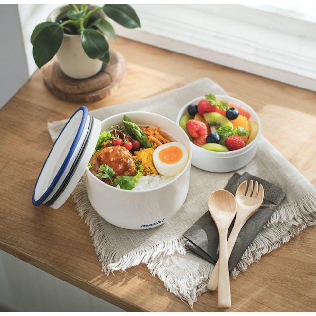MOSH! Bento Tritan Lunch box 480ml - Turqoise - 1