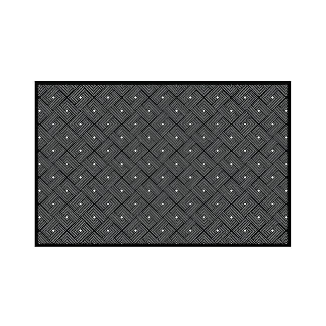 Ease Small Reversible Mat 2m x 0.9m - Black - 0