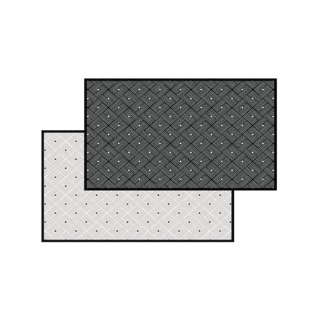 Ease Small Reversible Mat 2m x 0.9m - Black - 9