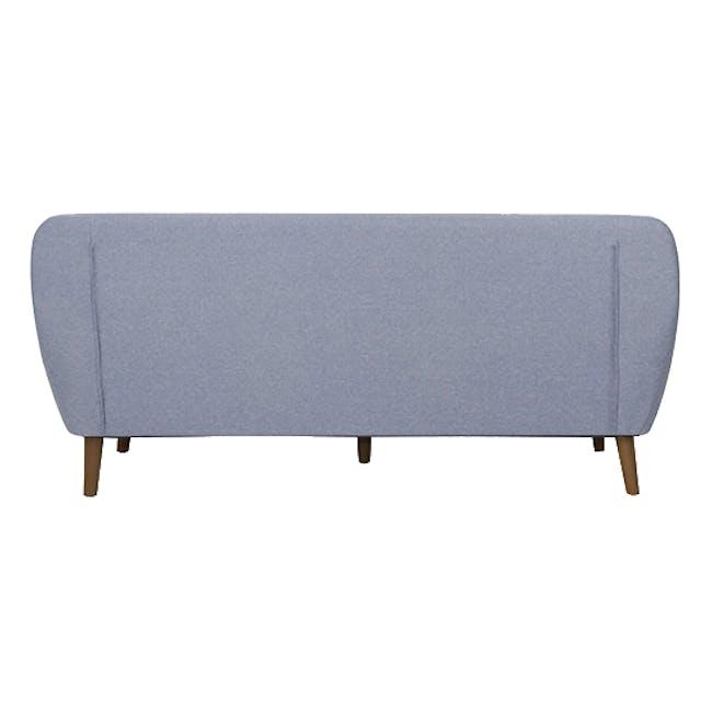 Emma 3 Seater Sofa - Dusk Blue - 3