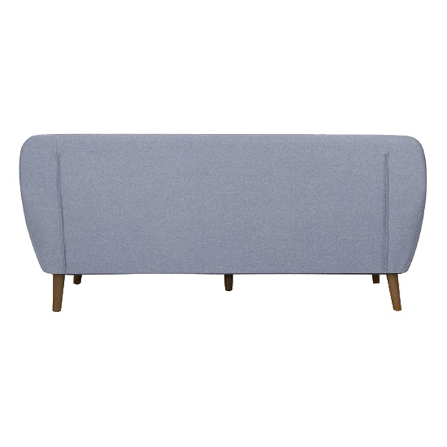 Emma 3 Seater Sofa with Emma Armchair - Dusk Blue - 3