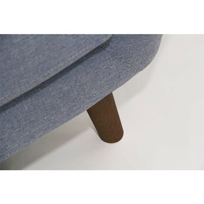 Emma 3 Seater Sofa with Emma 2 Seater Sofa - Dusk Blue - 7