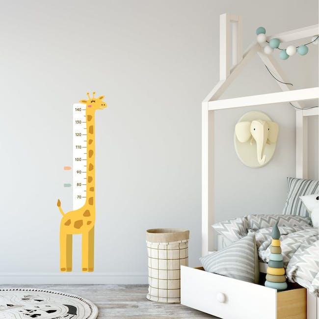 Urban Li'l Giraffe Height Chart Fabric Decal - 0
