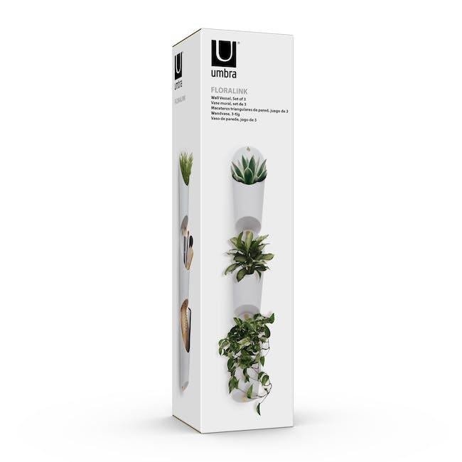 Floralink Wall Vessel (Set of 3) - 9