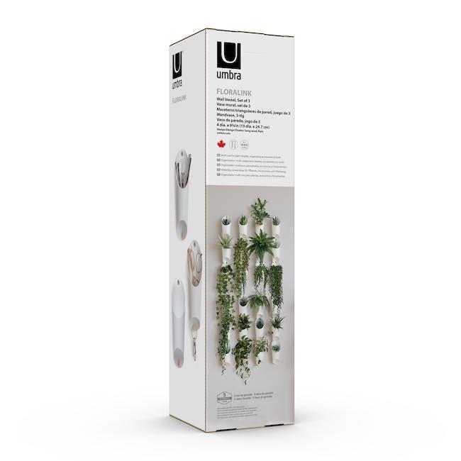 Floralink Wall Vessel (Set of 3) - 10
