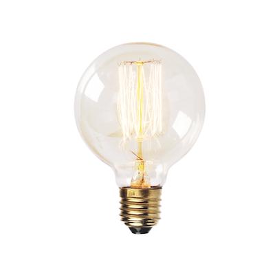 Edison G125 Squirrel Cage Filament Bulb - Image 1