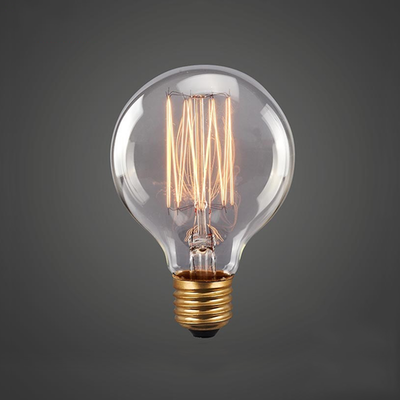 Edison G125 Spiral Globe Filament Bulb - Image 2