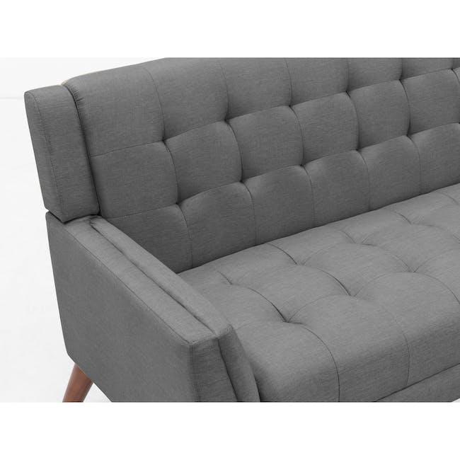 Stanley 2 Seater Sofa - Siberian Grey - 6
