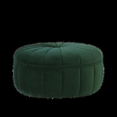 Ekko Pouf - Dark Green (Velvet) - Image 2