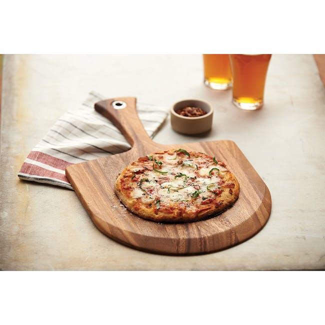 Ironwood Pizza Acacia Wood Cutting Serving Board - 1