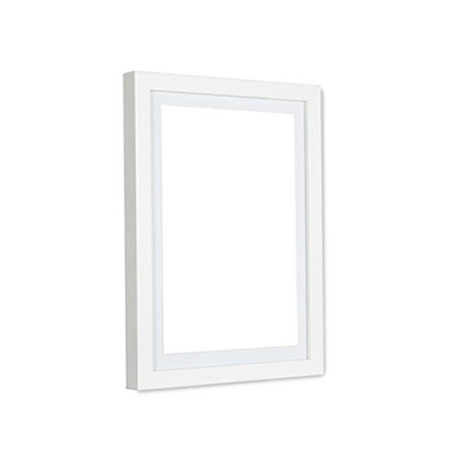 A2 Size Wooden Frame - White - 0