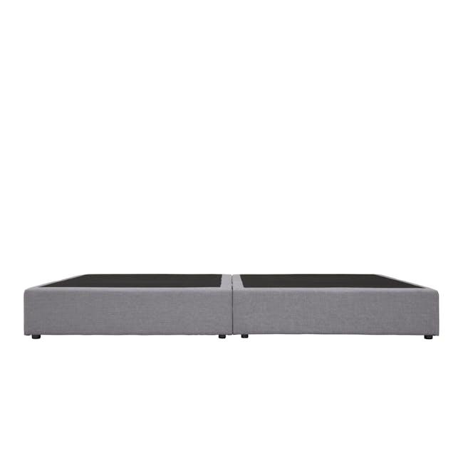 ESSENTIALS Single Box Bed - Grey (Fabric) - 3