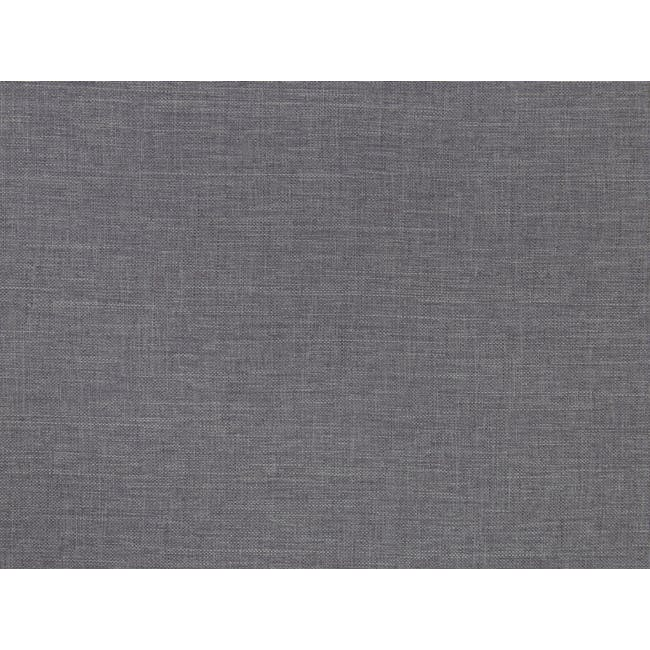 ESSENTIALS Super Single Box Bed - Grey (Fabric) - 5