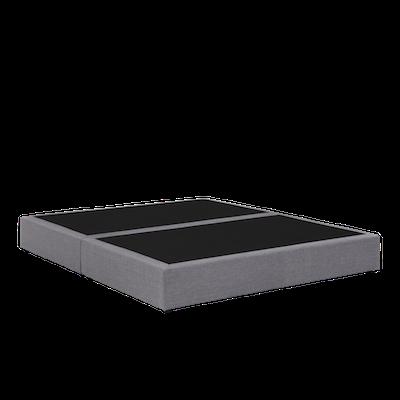Benjamin Box Divan Bed - Light Grey (Fabric)- 4 Sizes - Image 2