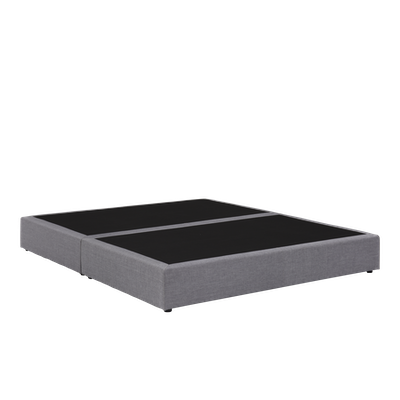 (As-is) ESSENTIALS Box Bed - Grey (Fabric) - King - 1 - Image 2