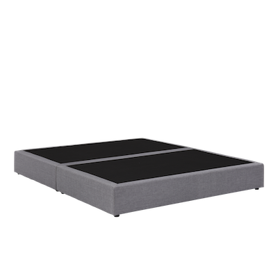 ESSENTIALS Box Bed - Grey (Fabric) - 4 Sizes - Image 2